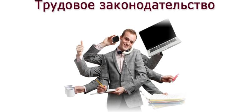 трудовое законодательство